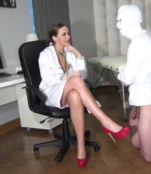 Mistress Doctor Porn - Mistress - Doctor gives cock therapy - HD (2017/GloveMansion.com/366