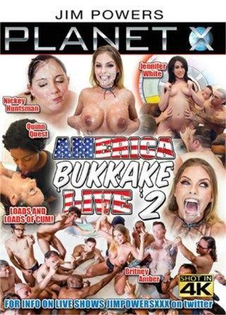 America Bukkake Live 2 (2018)