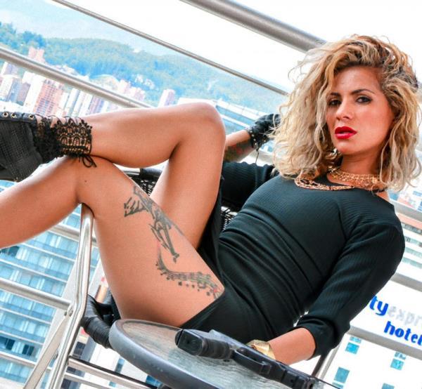 Laura Montenegro - Feisty Latina drug lord Laura Montenegro fucks horny Colombian gangster 1080p