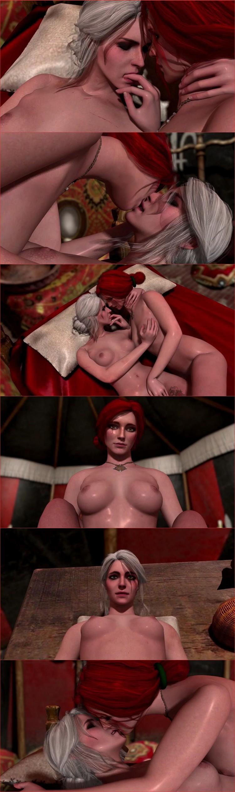 Hentai_44-Ciri _ Triss Free Cartoon HD Porn_cover,