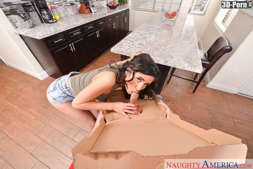 Naomi Woods, Ryan Driller - Exxxtra Sausage Pizza Delivery