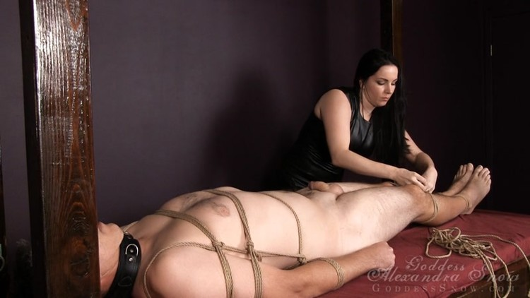 I have such a love for bondage. I love to tie a man up and leave him  helpless while I do whatever pleases me. I have a slave here who is  destined ...