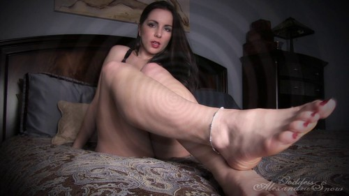 Trance Trained for Foot Slavery
