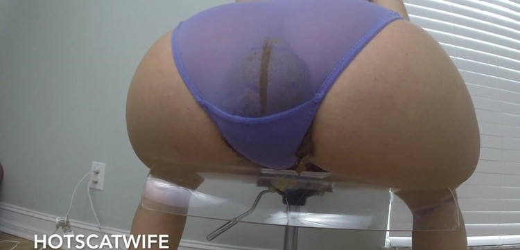HotScatWife - Shit my PANTIES and Play my POOPER