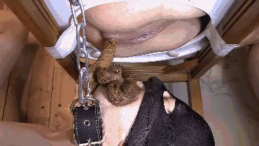 Mistress Mia - Exclusive Shit! Mia and Grace have fun with the dirty slave